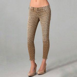 Current/Elliott - Stiletto Leopard Skinny Jeans